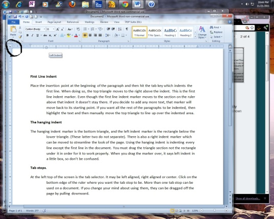 Do we indent the first paragraph of an essay